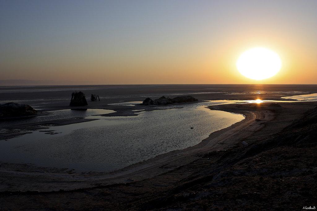 Lever de soleil en tunisie
