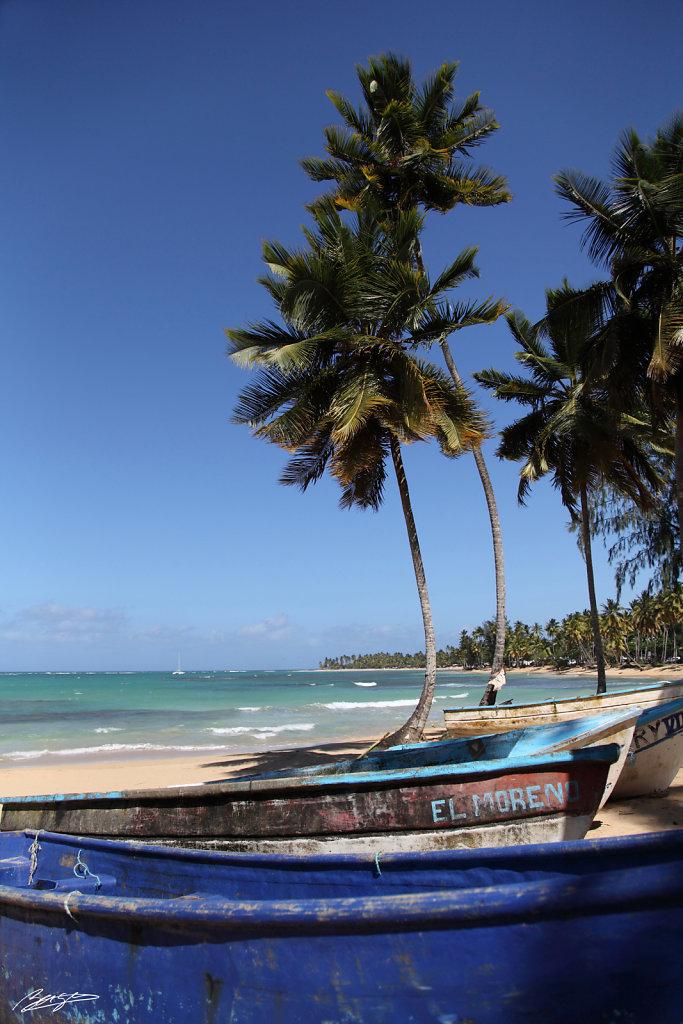 plage las terrenas republique dominicaine